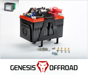 Genesis Offroad Dual Battery Kit W 200a Isolator Monitor 10 18 Toyota 4runner