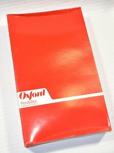 1 Case Of 500 Oxford Pendaflex Legal Size Hanging File Folders Hq 4153 1 3