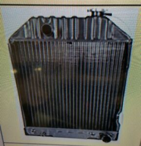 Ford New Holland Radiator 5000 5600 6600 7600 7700 5610 6610 6710 Without