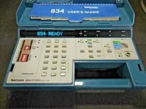 Tektronix 834 Programmable Data Communications Tester User s Guide Carry Pouch