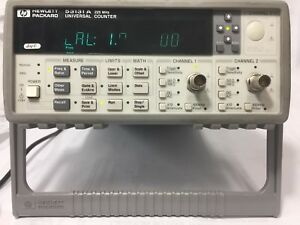 Hp 53131a Universal Frequency Counter great Working Condition 30 Days M back