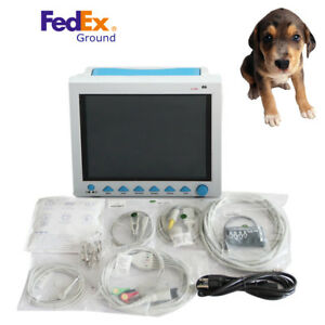 Veterinary Icu Ccu Vital Signs Patient Monitor 6 Parameters Animal Pets Machine