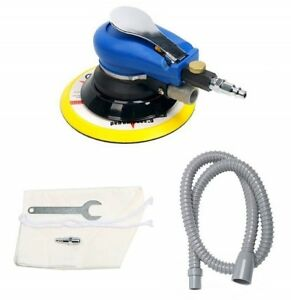 5pc 6 Air Random Orbital Palm Sander Dual Action Auto Body Orbit Da Sanding Us