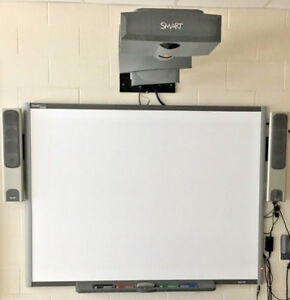 Smart Technologies Smart Board 77 Interactive Display Complete System Sb 680
