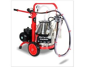 Melasty Cow Compact Portable Electric Milking Machine Milk 1 Cow In 6 Minutes