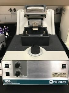 Working Pelco Vibratome 1000 Plus Tissue Sectioning System 2 Boxes Blades