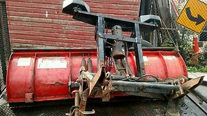 Western Ultramount Plow Snow Plow Setup 7 6 With Pump Lights Chevy Ford Dodge