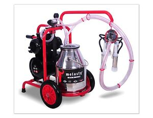 Melasty Single Cow Portable Electric Milking Machine Milk 1 Cow In 6 Minutes