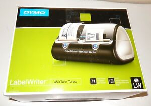 Dymo Label Writer 450 Twin Turbo Label Printer 1752266 Label Maker Extra Label