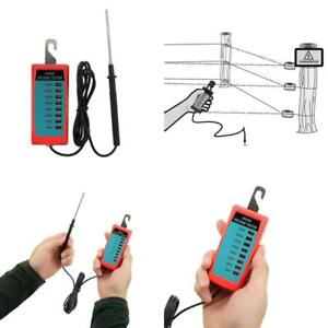 All sun Led Electric Fence Voltage Tester Max 7 Kv
