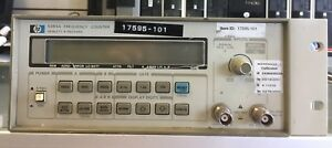 Hp 5384a Frequency Counter great Working Condition 14 Days Money Back