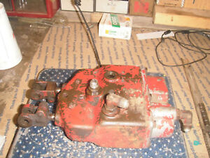 Ih Farmall Hydraulic Brake Control Valve 706 806 1206 More Lot 1856