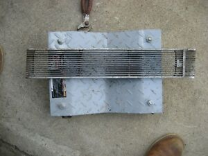 1939 Cadillac Lasalle 5019 Hood Side Fender Grill L h Left Driver Rat Rod