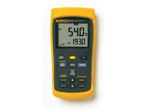 Fluke 54 2 B 60hz Dual Input Thermometer With Usb Recording