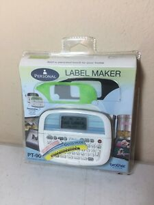 Bnip Brother P touch Pt 90 Personal Electronic Label Maker Free Shipping
