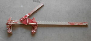Vintage Durbin Red d rod Barbed Wire Fence Stretcher Dd 800 Excellent Working