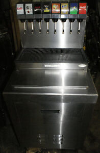 Cornelius Cb2323a 8 Soda Fountain Cold Plate Ice Bin W Rack Pumps Co2 Regulator