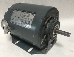 Westinghouse Ac Motor 1 6hp 1725rpm Cat 316p251 Ser Fa76 Type Fh 1 2 Shaft