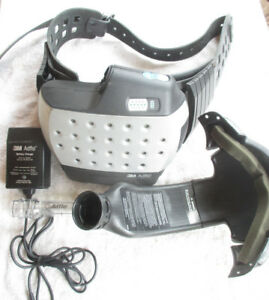 3m Adflo Speedglas Welding Respirator Air Supply System W Battery Charger Bag