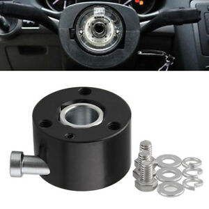 3 Hole Steering Wheel Quick Release Disconnect Hub 3 4 Bore Shaft Push Button Us