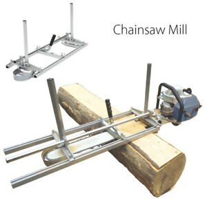 Chain Saw Mill Log Planking Lumber Cutting Guide Bar For 14 36 Chainsaw