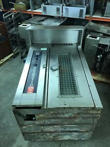Adamatic Hobart Natural Gas Cro1g Single Rack Bakery Roll In Oven