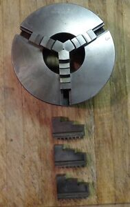 Unused Atlas Craftsman South Bend Lathe Model S 101 2165 1 h 5 3 Jaw Chuck