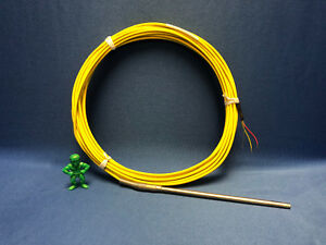 Fw Murphy 10051326 Thermocouple Type K 1 4 Diameter Tube X 6 Probe 30 Ext