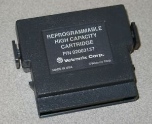 Reprogrammable High Capacity Mass Storage Cartridge Tech 1a Mastertech Vetronix