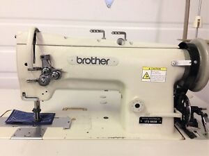 Brother Lt2 b838 2 needle Walking Foot Reverse 110v Ndustrial Sewing Machine