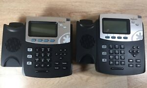 Lot Of 2 Digium D40 Ip Phone 2 line Sip With Hd Voice No Stands And Handset
