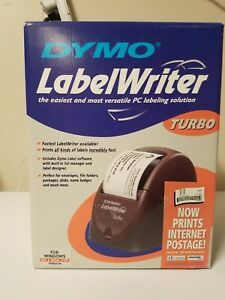 Rare Vintage Dymo Labelwriter Turbo Model 67010 New In opened Box