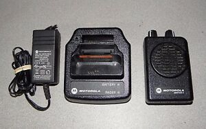 Motorola Minitor V 5 Single Channel Vhf Stored Voice Sv Pager Free Programming