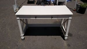 Computer Desk With Keyboard Tray Center Drawer 24x48 We Deliver Locally Nor Ca
