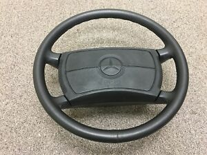1990 Mercedes Benz 190e Steering Wheel W Airbag Used