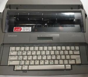 Brother Sx 4000 Electronic Typewriter Estate Find Sold As Not Working Parts
