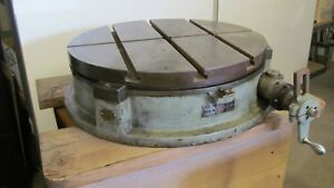 25 Troyke Bh25 Rotary Table For Milling Machine Mill