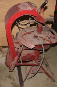 Vintage Bishman Tire Changer Machine Barn Find