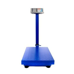 661lb Weight Computing Scale Lcd Digital Floor Platform For Stores Warehouse