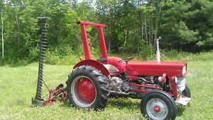 Massey Ferguson 135 Tractor With Massey 41 Sickle Bar Mower