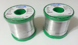 2lbs Silver 3 Sac305 Alpha Solder 032 96 5 sn 3 ag 5 cu No Clean 159083 New
