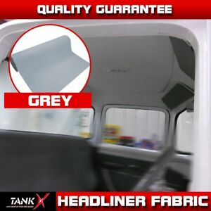 Auto Grey Headliner Materials Foam Roof Lining Upholstery Fabric Trim 100 x60