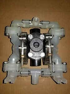 Sandpiper Pb1 4 vt3pp Air Operated Double Diaphragm Pump 1 4 Or 1 2 Npt 100psi