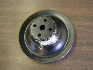 Nos Oem Ford 1955 1959 Fairlane Water Pump Pulley 1956 1957 1958 272 292 312ci