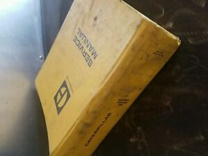 Caterpillar 12g Motor Grader Service Manual