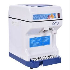 Shaved Ice Machine Tabletop Ice Crusher Shaver Snow Cone Maker Electric