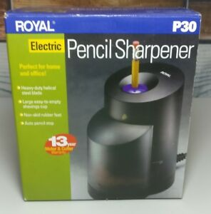 New Royal Powerpoint P30 Electric Pencil Sharpener For Home Office School