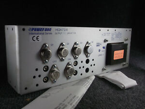 Power one He24 7 2 a 24vdc Power Supply new international Series