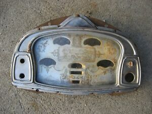 1920s Antique Vintage Hudson Super Eight Instrument Cluster Bezel 1928