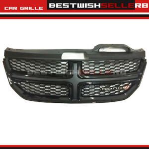 Bumper Radiator Upper Grille For Dodge Journey 2013 2016 14 15 Black Front Grill